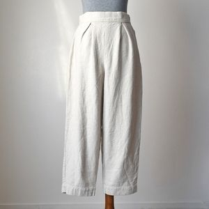 Elizabeth Suzann Nadeen Trousers in Hemp Twill